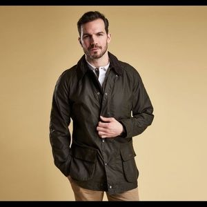 *NEW* Barbour Bristol Wax Jacket! Small. Olive.
